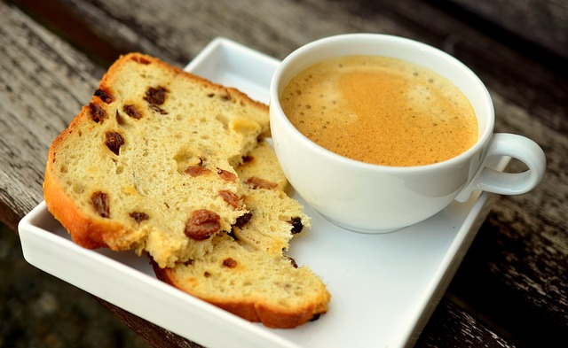 photo of coffee and cake