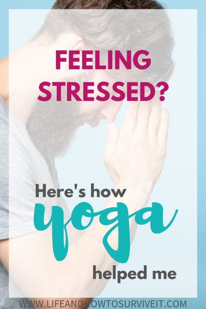 yoga can help with stress