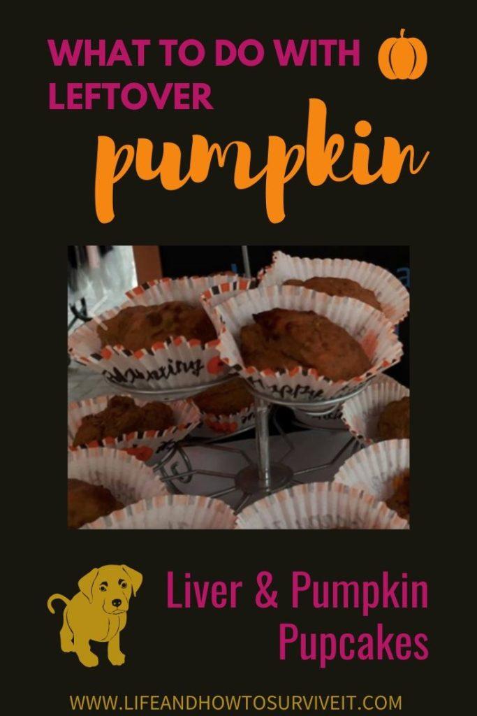 leftover pumpkin and liver pupcakes recipe
